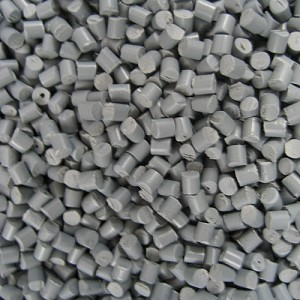 Resin Pellets Grey
